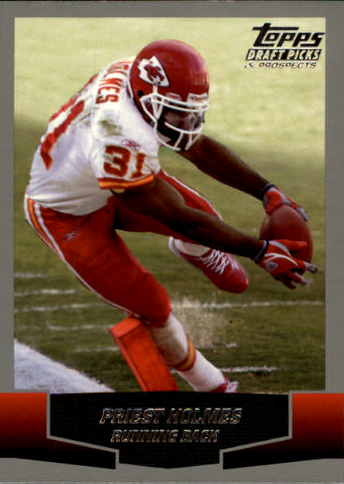 2004 Topps Draft Picks and Prospects #51 Priest Holmes