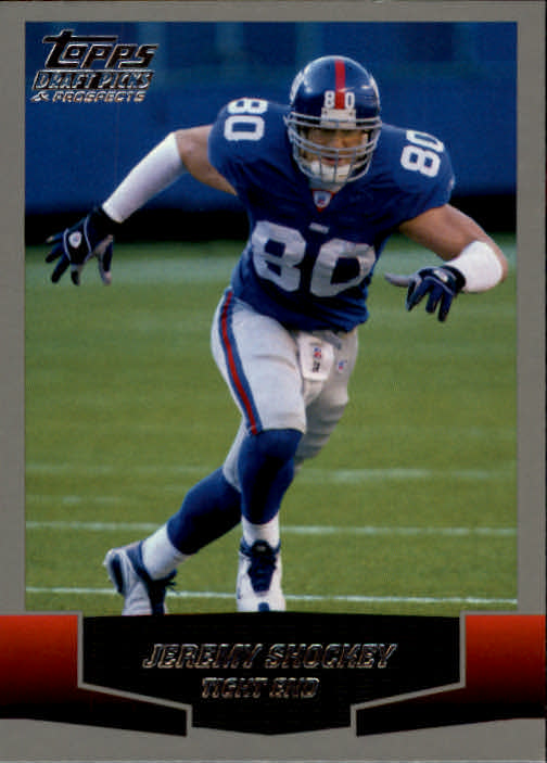 2004 Topps Draft Picks and Prospects #78 Jeremy Shockey