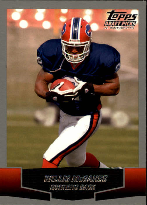 2004 Topps Draft Picks and Prospects #108 Willis McGahee