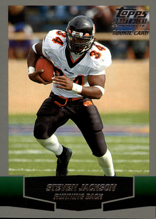 2004 Topps Draft Picks and Prospects #111 Steven Jackson RC