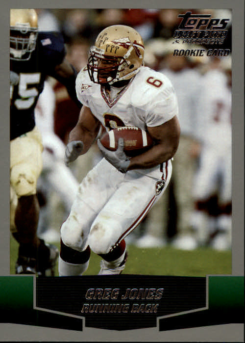 2004 Topps Draft Picks and Prospects #112 Greg Jones RC