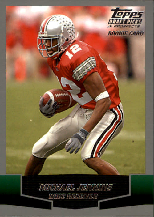 2004 Topps Draft Picks and Prospects #124 Michael Jenkins RC