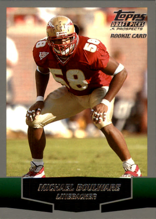 2004 Topps Draft Picks and Prospects #133 Michael Boulware RC