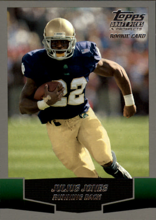 2004 Topps Draft Picks and Prospects #134 Julius Jones RC