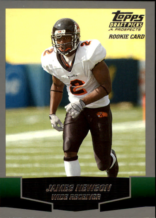 2004 Topps Draft Picks and Prospects #142 James Newson RC
