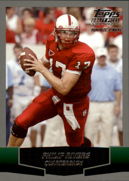 2004 Topps Draft Picks and Prospects #161 Philip Rivers RC front image