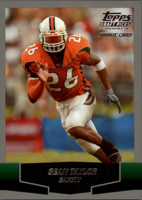 2004 Topps Draft Picks and Prospects #162 Sean Taylor RC