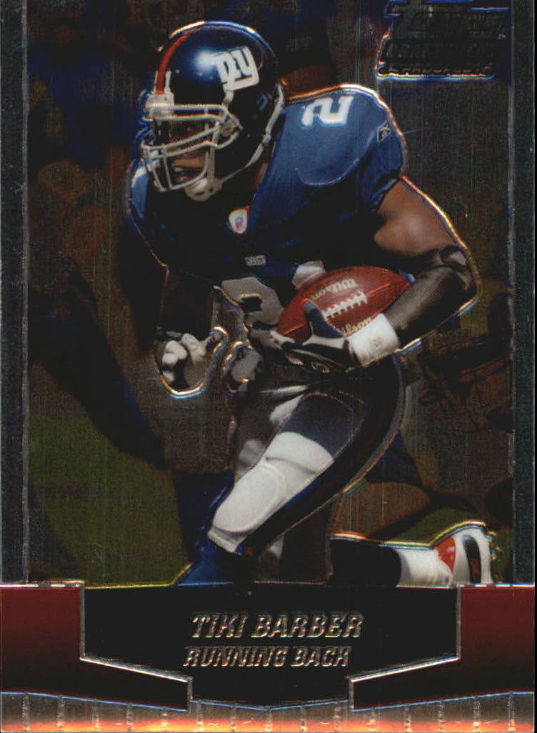 2004 Topps Draft Picks and Prospects Chrome #39 Tiki Barber