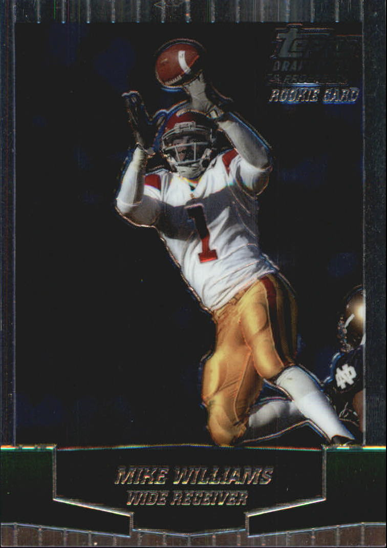 2004 Topps Draft Picks and Prospects Chrome #160 Mike Williams front image