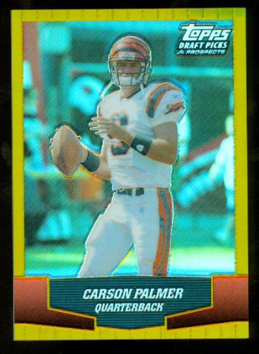 2004 Topps Draft Picks and Prospects Gold Chrome #83 Carson Palmer