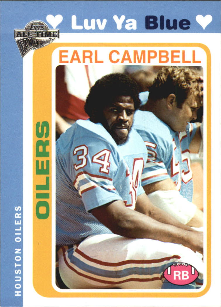 2004 Topps Fan Favorites #25 Earl Campbell