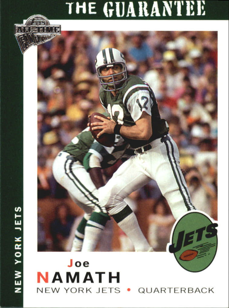 2004 Topps Fan Favorites #47 Joe Namath