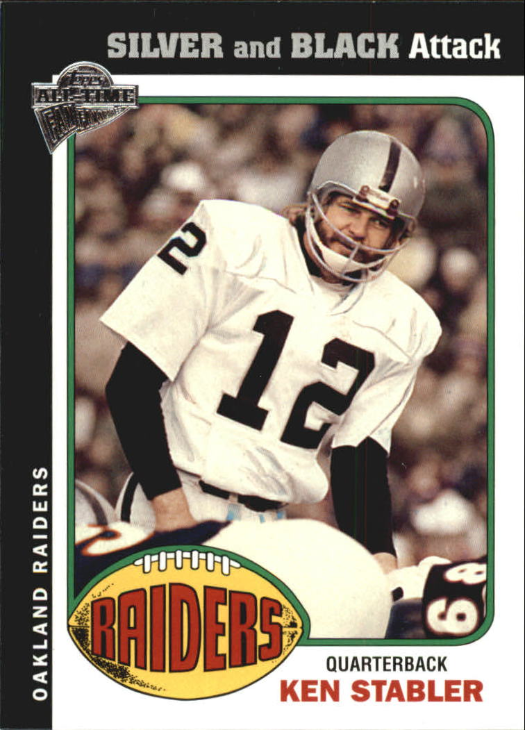 2004 Topps Fan Favorites #53 Ken Stabler