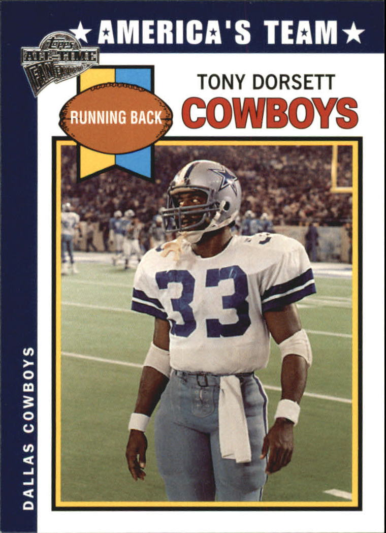 2004 Topps Fan Favorites #82 Tony Dorsett