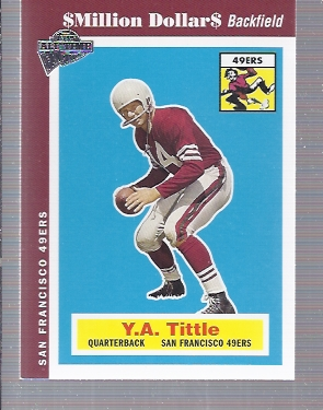 2004 Topps Fan Favorites #85 Y.A. Tittle