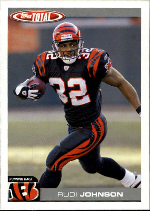 2004 Topps Total #170 Rudi Johnson