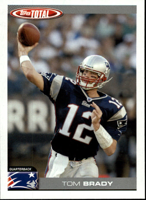 2004 Topps Total #200 Tom Brady