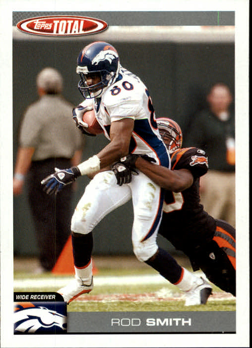 2004 Topps Total #212 Rod Smith