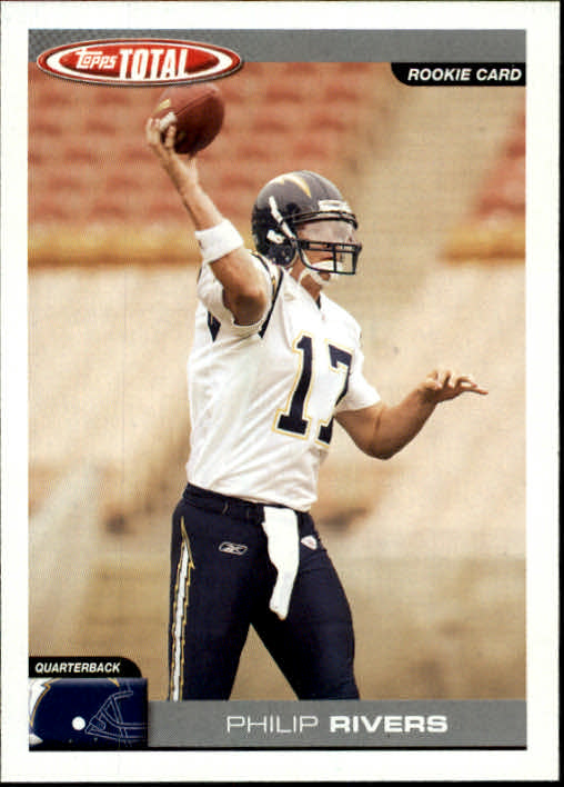 2004 Topps Total #331 Philip Rivers RC front image