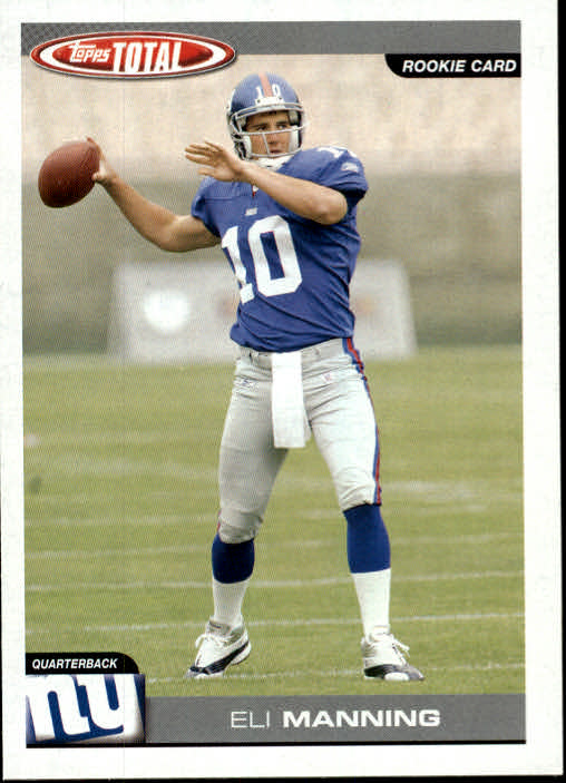 2004 Topps Total #350 Eli Manning RC