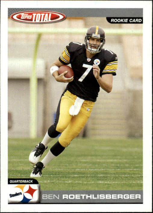 2004 Topps Total #375 Ben Roethlisberger RC