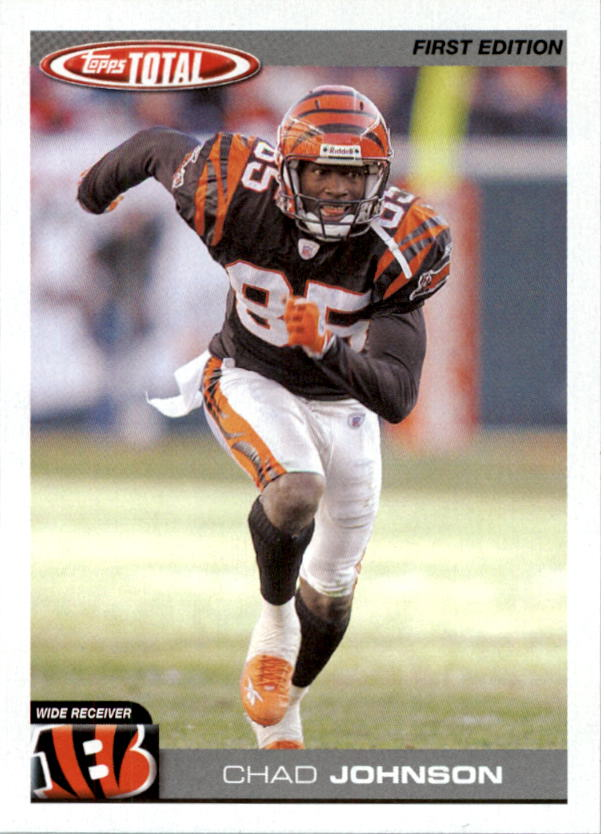 2004 Topps Total First Edition #90 Chad Johnson