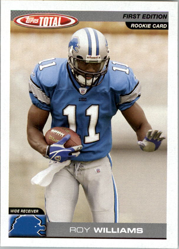 2004 Topps Total First Edition #362 Roy Williams WR