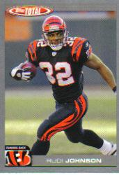 2004 Topps Total Silver #170 Rudi Johnson