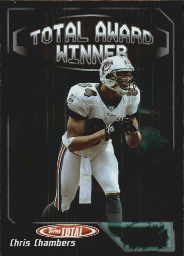 2004 Topps Total Award Winners #AW6 Chris Chambers front image