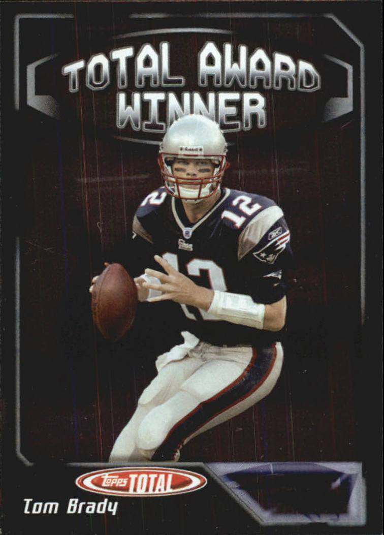 2004 Topps Total Award Winners #AW20 Tom Brady