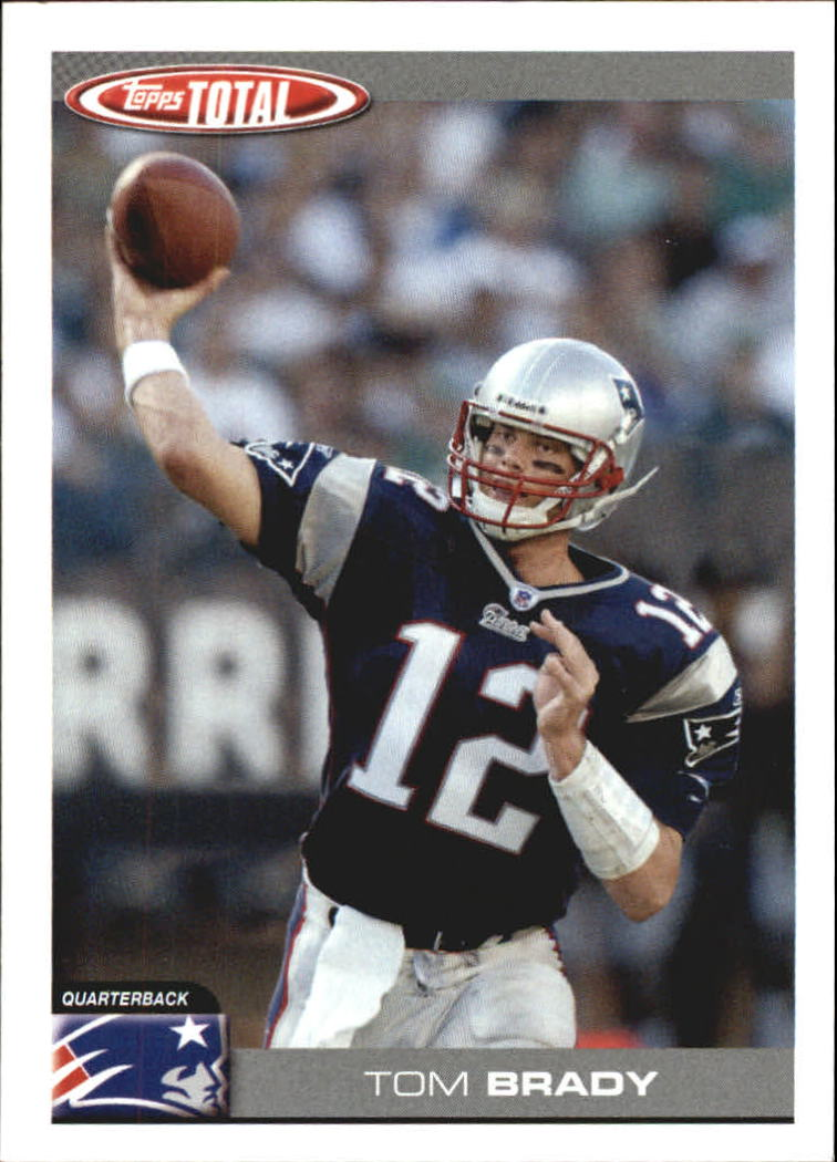 2004 Topps Total Team Checklists #TTC19 Tom Brady