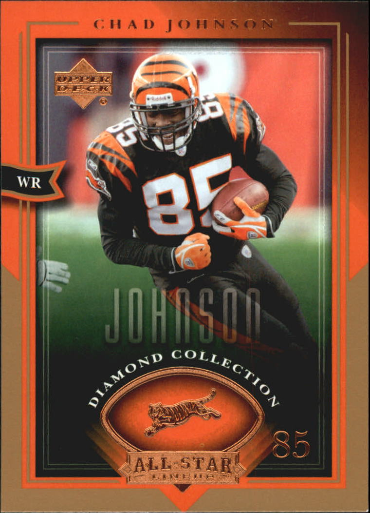 2004 UD Diamond All-Star #11 Chad Johnson