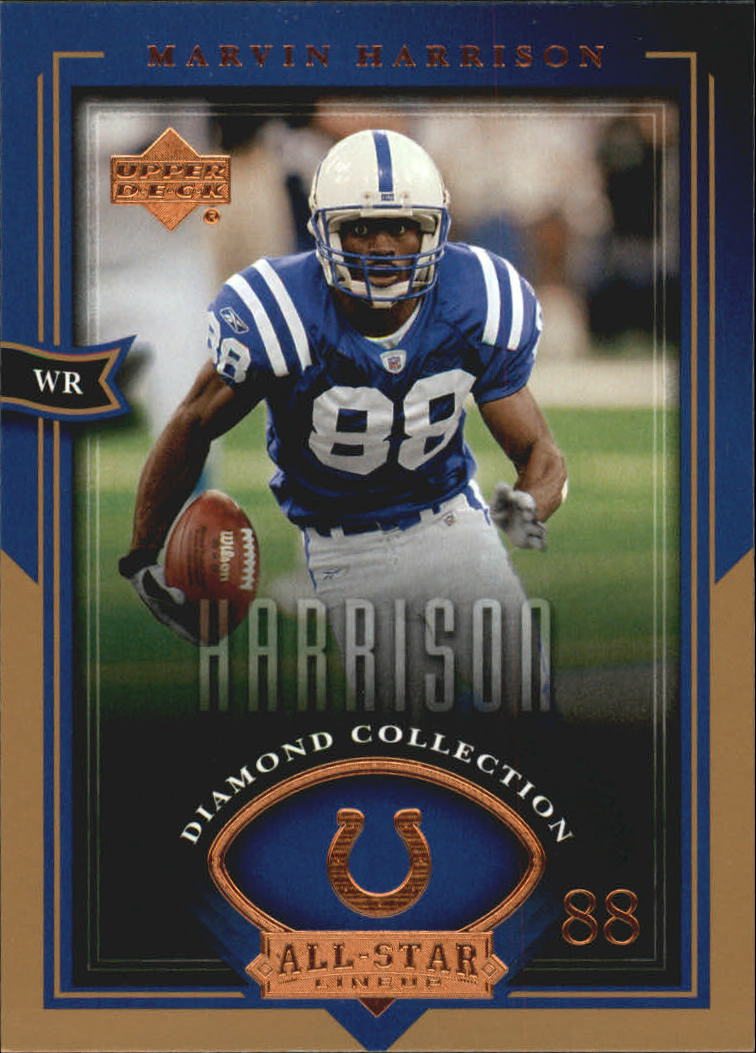 2004 UD Diamond All-Star #13 Marvin Harrison