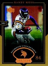 2004 UD Diamond All-Star #23 Randy Moss