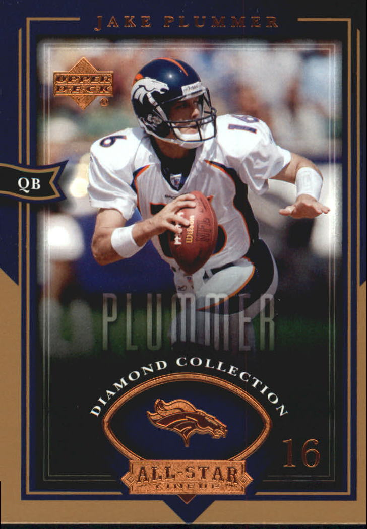 2004 UD Diamond All-Star #66 Jake Plummer front image