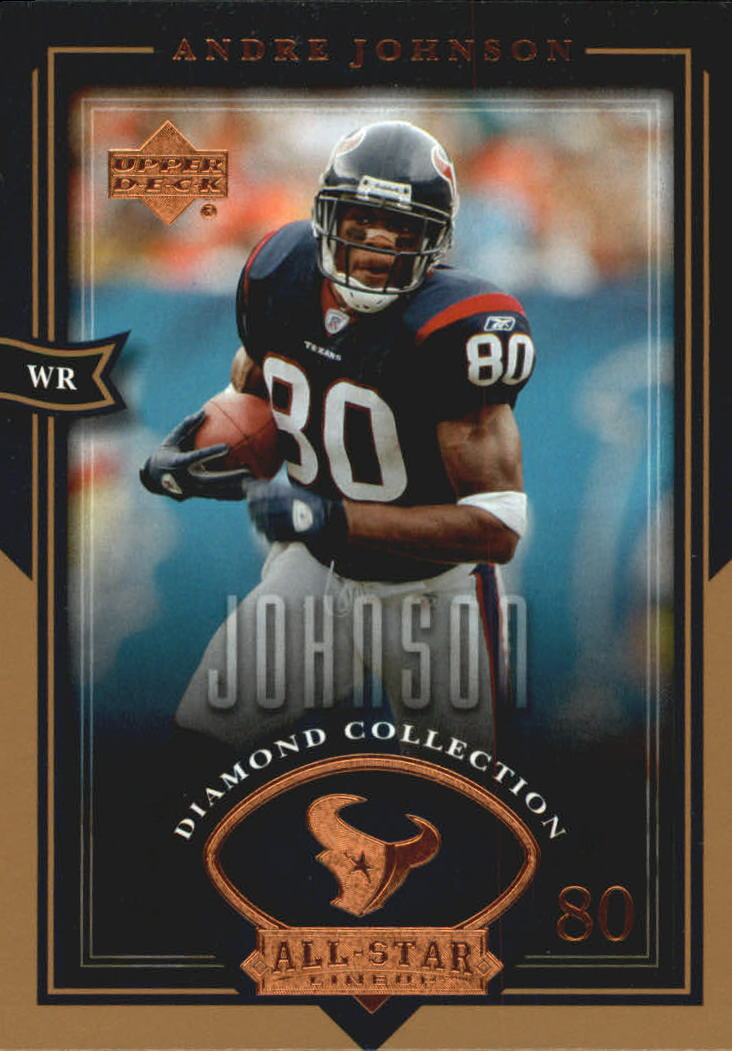 2004 UD Diamond All-Star #85 Andre Johnson