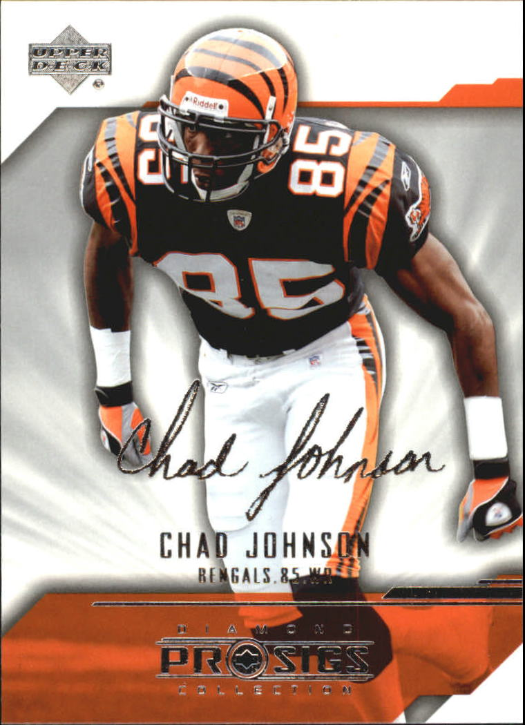 2004 UD Diamond Pro Sigs #18 Chad Johnson