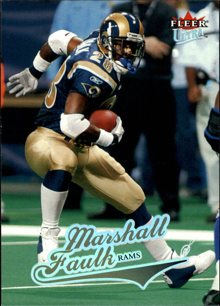 2004 Ultra #129 Marshall Faulk