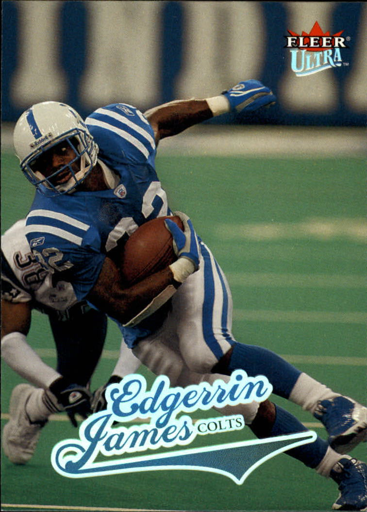 2004 Ultra #182 Edgerrin James