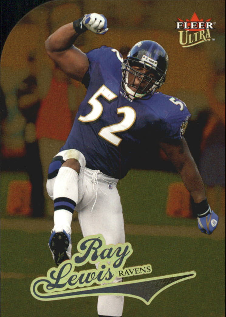 2004 Ultra Gold Medallion #74 Ray Lewis