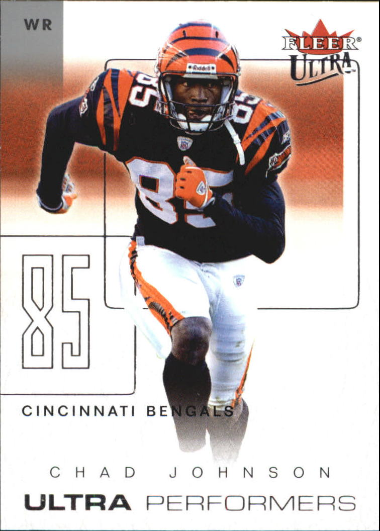2004 Ultra Performers #14UP Chad Johnson