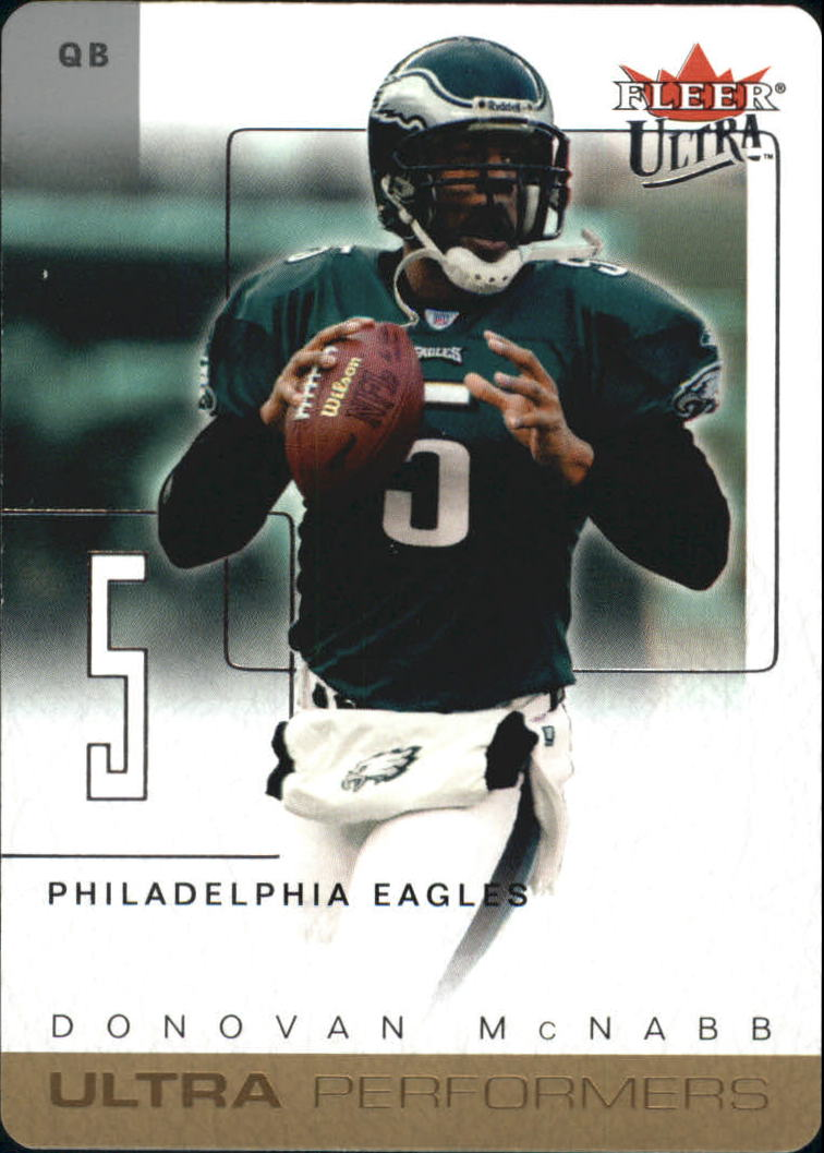 2004 Ultra Performers Gold Die Cuts #7UP Donovan McNabb