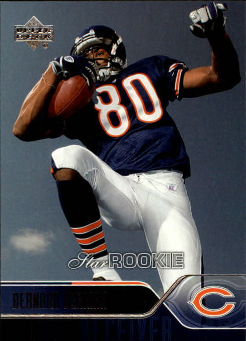 2004 Upper Deck #251 Bernard Berrian RC