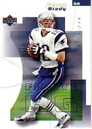 2004 Upper Deck Finite HG #58 Tom Brady