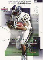 2004 Upper Deck Finite HG #81 LaDainian Tomlinson