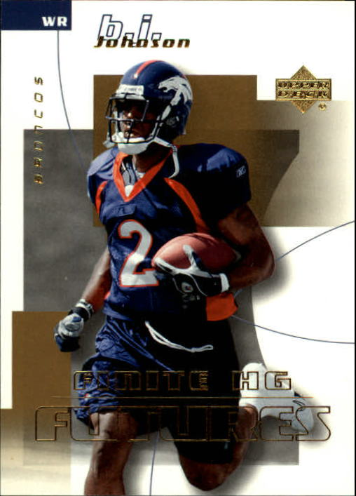 2004 Upper Deck Finite HG #185 B.J. Johnson RC