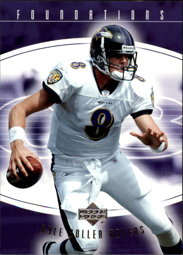 2004 Upper Deck Foundations #8 Kyle Boller