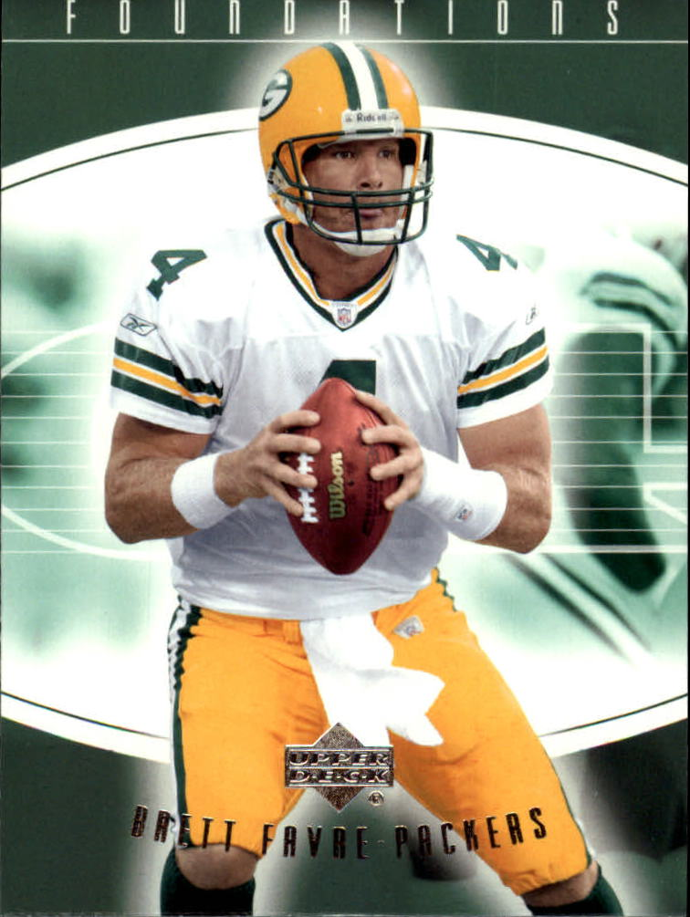 2004 Upper Deck Foundations #35 Brett Favre front image