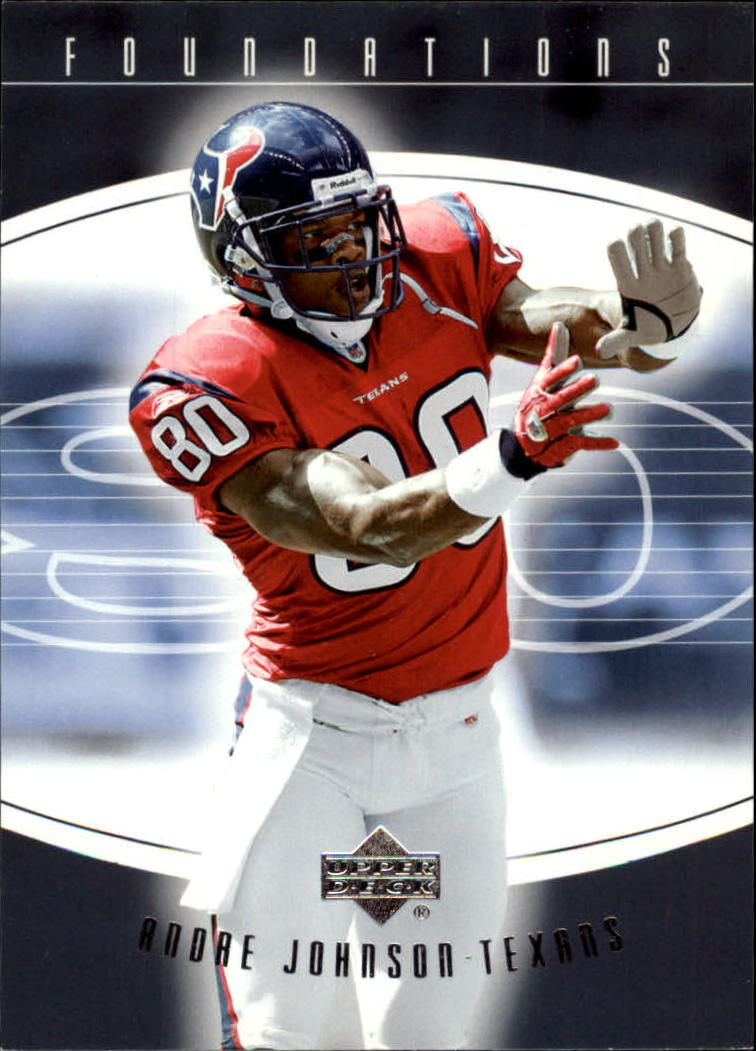 2004 Upper Deck Foundations #39 Andre Johnson
