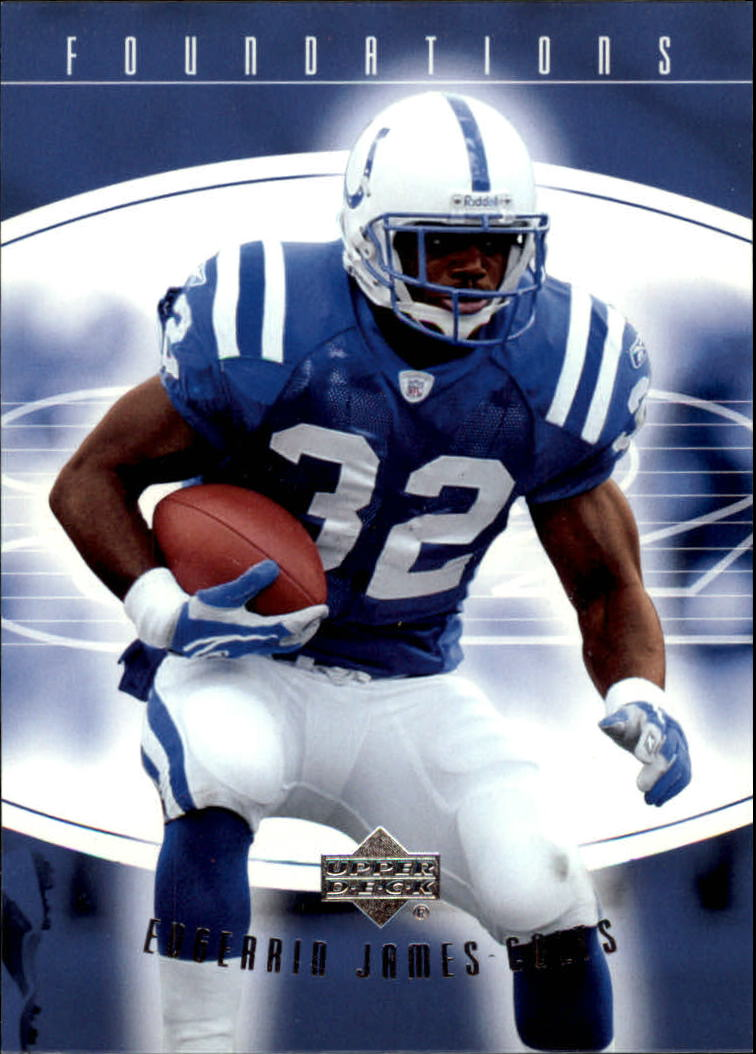 2004 Upper Deck Foundations #42 Edgerrin James